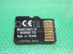 microSDメモリー 接点側