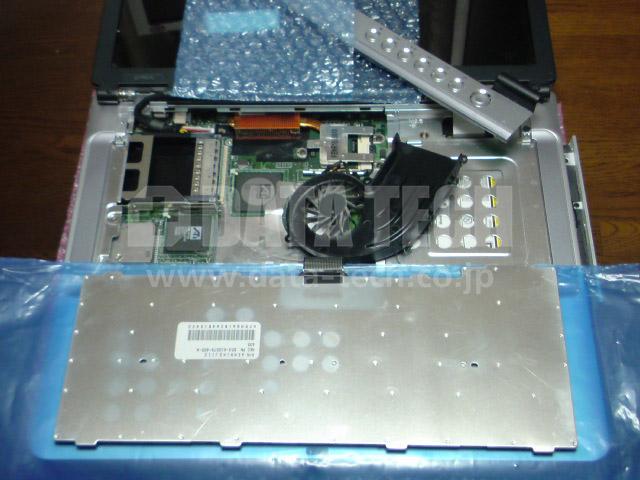 データ救出中に、パソコン内部のクリーニング