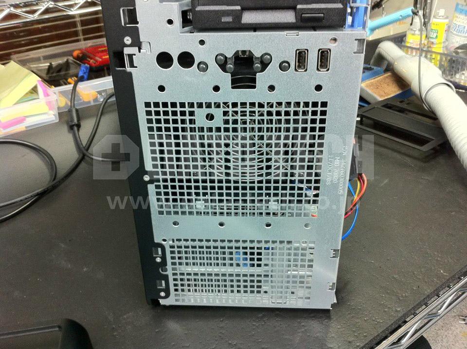 DELL PowerEdge T750 クリーニング後