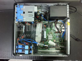 DELL PowerEdge T105の故障した電源ユニットを交換